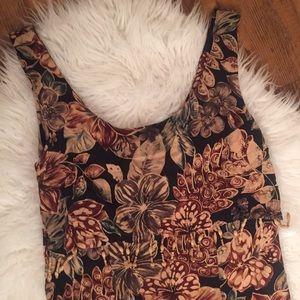 90s Vintage Tropical Dress